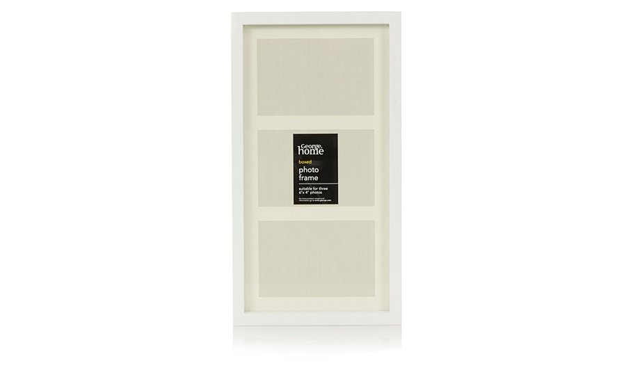 george home boxed photo frame 6 x 4 inch frames albums. Black Bedroom Furniture Sets. Home Design Ideas