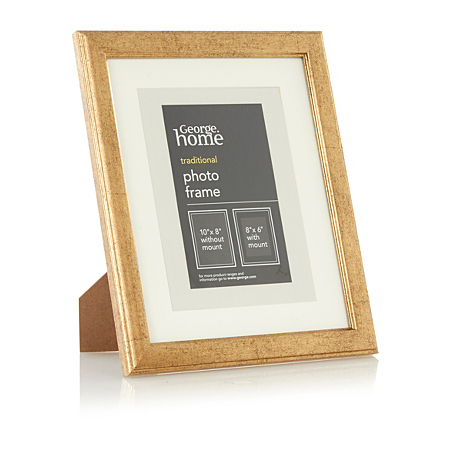 george home traditional photo frame 8 x 6 inch plain. Black Bedroom Furniture Sets. Home Design Ideas