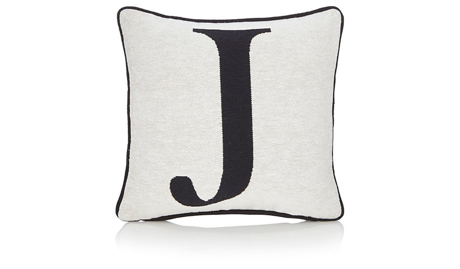 George home letter j cushion 30x30cm cushions george for Letter m cushion