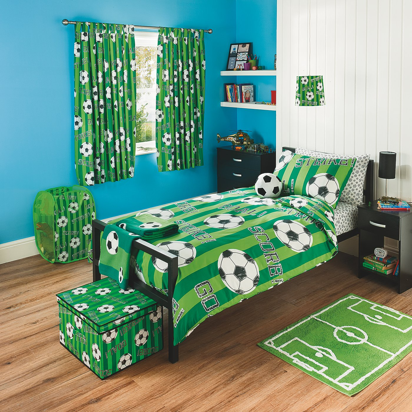 40 Age Boys Room Designs We Love. Childrens Football Bedroom Accessories   Design is important