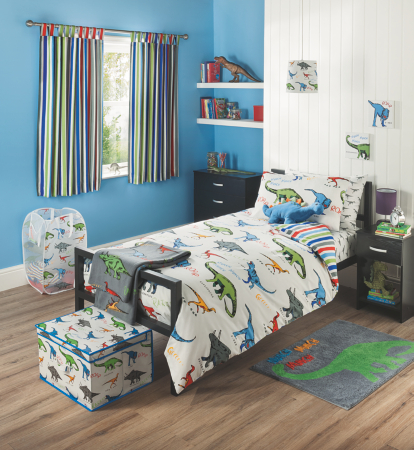 George Home Dinosaurs Bedroom Range Single Beds