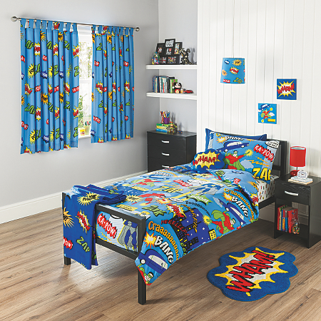 George Home Superhero Bedroom Range View All Kids Asda Direct