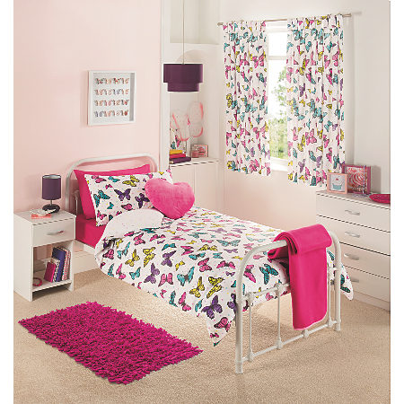 George Home Butterfly Brights Bedroom Range View All Kids Asda Direct