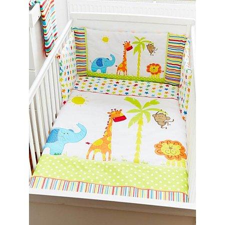 George Home Jungle Friends Nursery Range | Baby Bedding ...