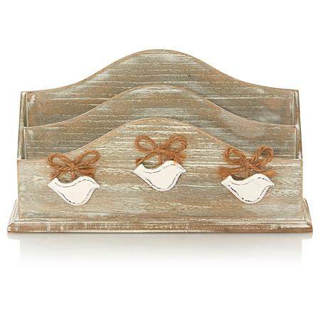 george home bird letter rack home accessories asda direct. Black Bedroom Furniture Sets. Home Design Ideas