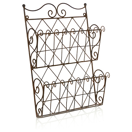 george home wire letter rack home accessories asda direct. Black Bedroom Furniture Sets. Home Design Ideas