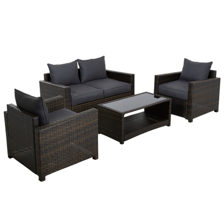 George Home Jakarta Deluxe Conversation Sofa Set In