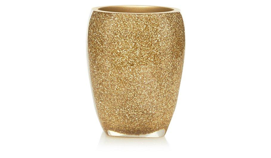 George Home Glitter Tumbler Gold Bathroom Accessories George At ASDA