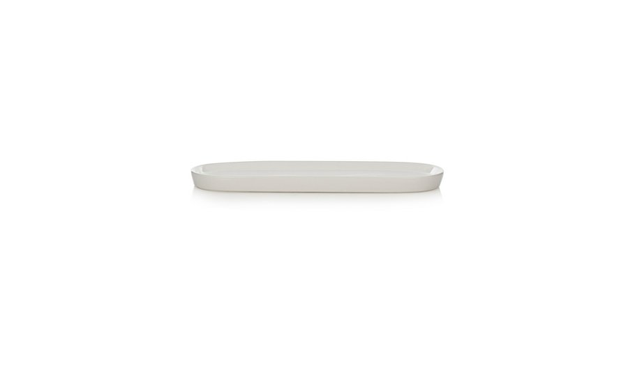 george home white ceramic tray bathroom accessories