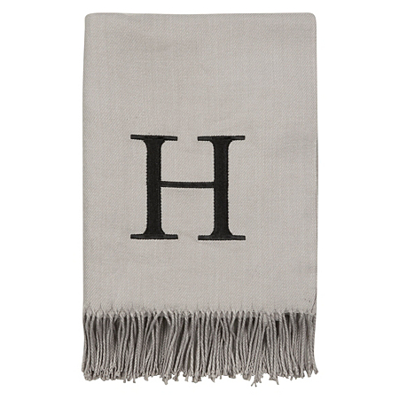 George Home Letter H Throw Blankets Amp Throws Asda Direct