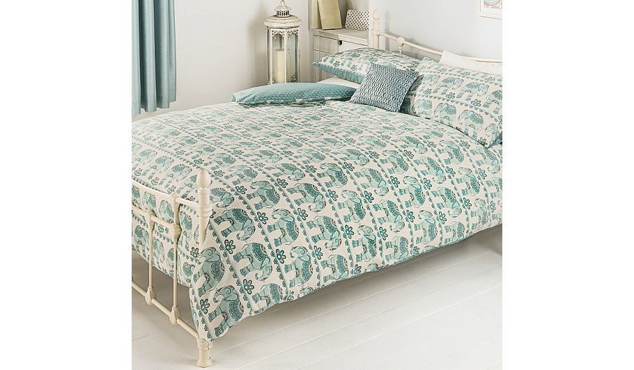 George Home Harmony Elephants Duvet | Bedding | George at ASDA