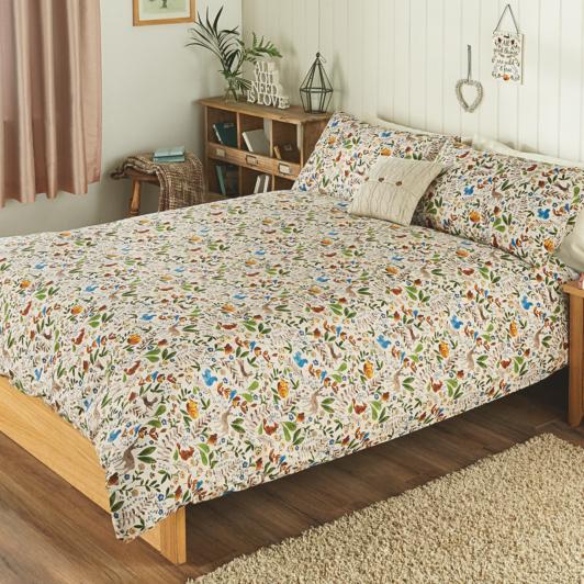 George Home Hibernate Woodland Animals Duvet Bedding