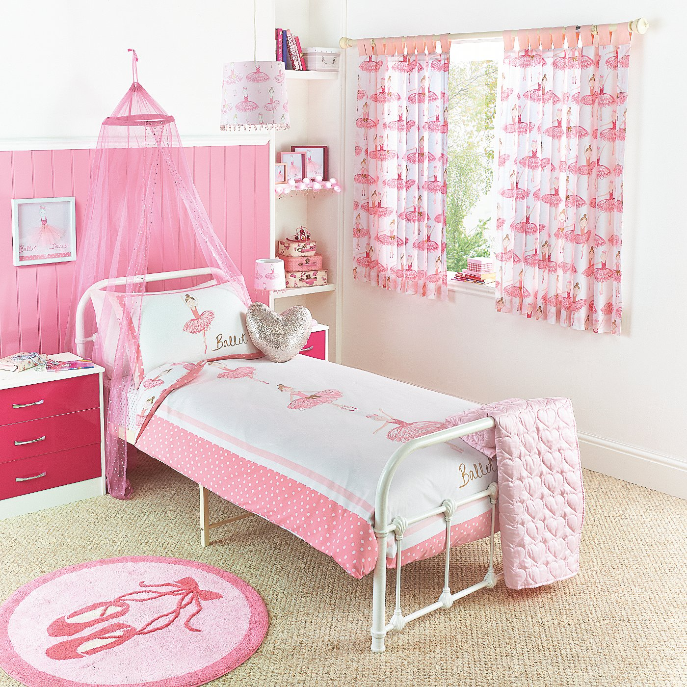 Pony Bedroom Accessories George Home Ballet Bedroom Range Bedding George At Asda