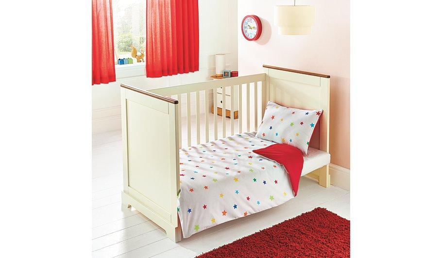 George Home Brights Reversible Duvet Set | Baby Bedding ...