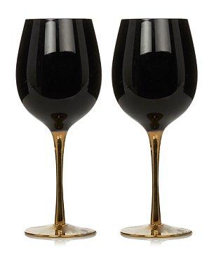 Buy Gold Wine Glasses From Asda