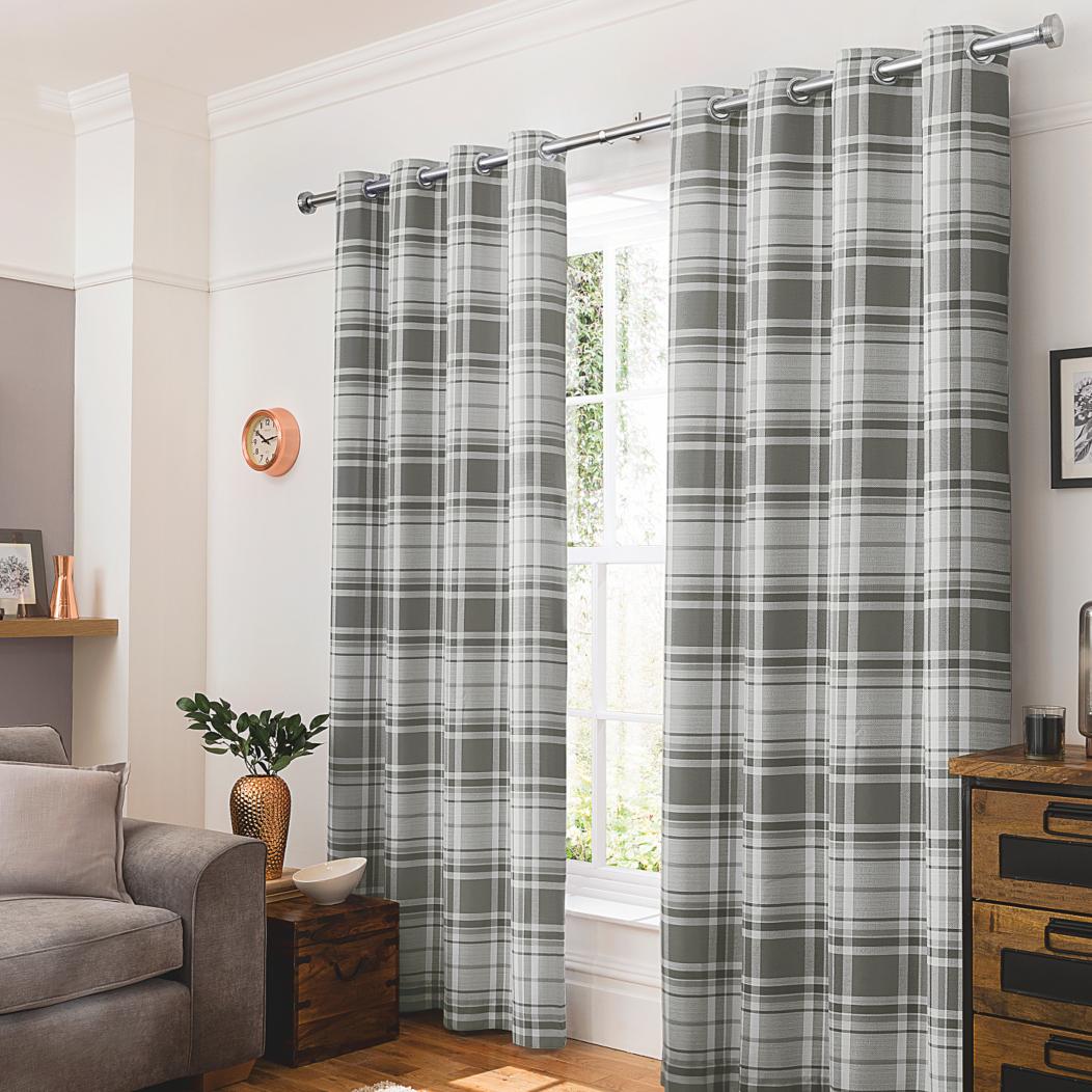 Cheap grey curtains 2