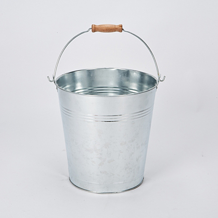 highlands 12lt galvanised mop bucket cleaning asda direct. Black Bedroom Furniture Sets. Home Design Ideas