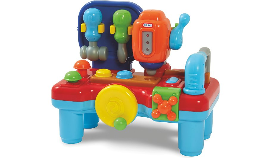 Little Tikes My First Workbench Kids George At Asda