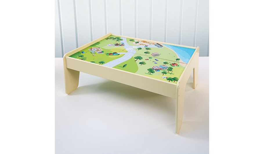 George home wooden farm and play table bundle wooden for Baby letter table for sale