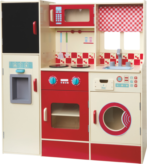 george home wooden kitchen and laundry set | kids | george at asda