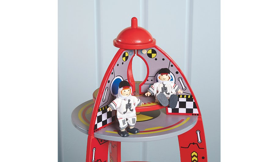 Best Spaceship Rockets Toys For Kids : George home wooden rocket toy kids at asda