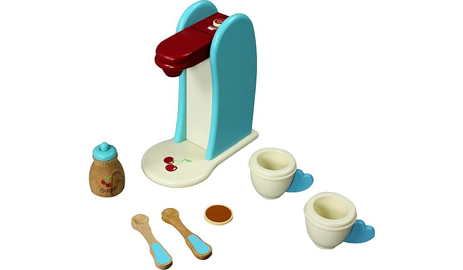 George Home Coffee Maker : George Home Wooden Coffee Maker Kids George at ASDA