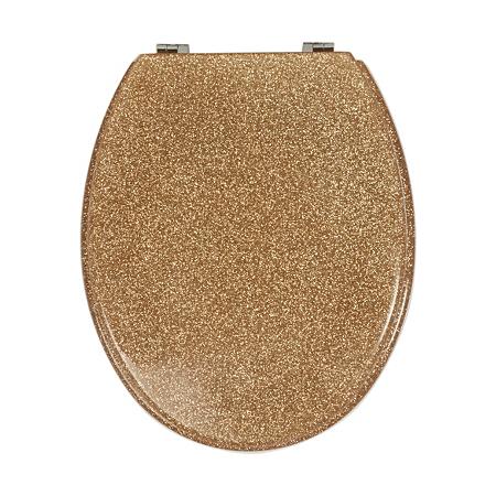 george home glitter toilet seat gold bathroom fittings. Black Bedroom Furniture Sets. Home Design Ideas