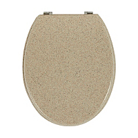 George Home Sandstone Effect Toilet Seat Bathroom