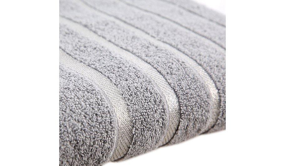 george home 100 cotton bath towel sparkle trim towels. Black Bedroom Furniture Sets. Home Design Ideas