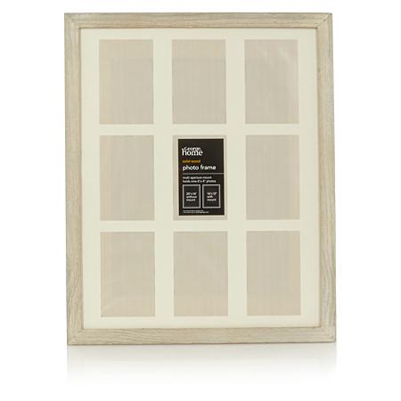 george home solid wood multiple mount photo frame frames. Black Bedroom Furniture Sets. Home Design Ideas