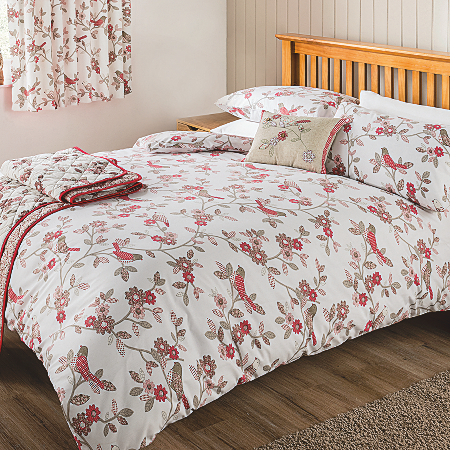 George Home Artisan Birds Duvet Set | Duvet Covers | ASDA ...