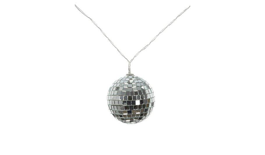 George Home Disco Ball String Lights Lighting George at ASDA