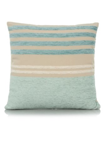 Chenille Stripe Cushion 40x40cm