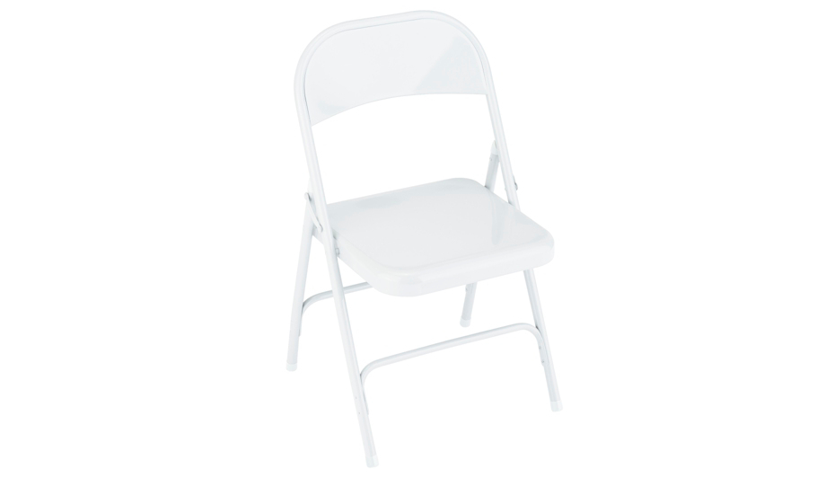 George Home Folding Chair White Home amp Garden George  : 5054070914281Chei532ampwid910ampqlt85ampfmtpjpgampresmodesharpampopusm110 from direct.asda.com size 910 x 532 jpeg 10kB