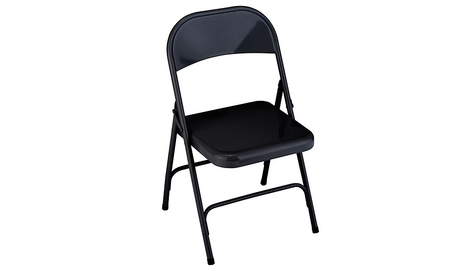 George Home Folding Chair - Black