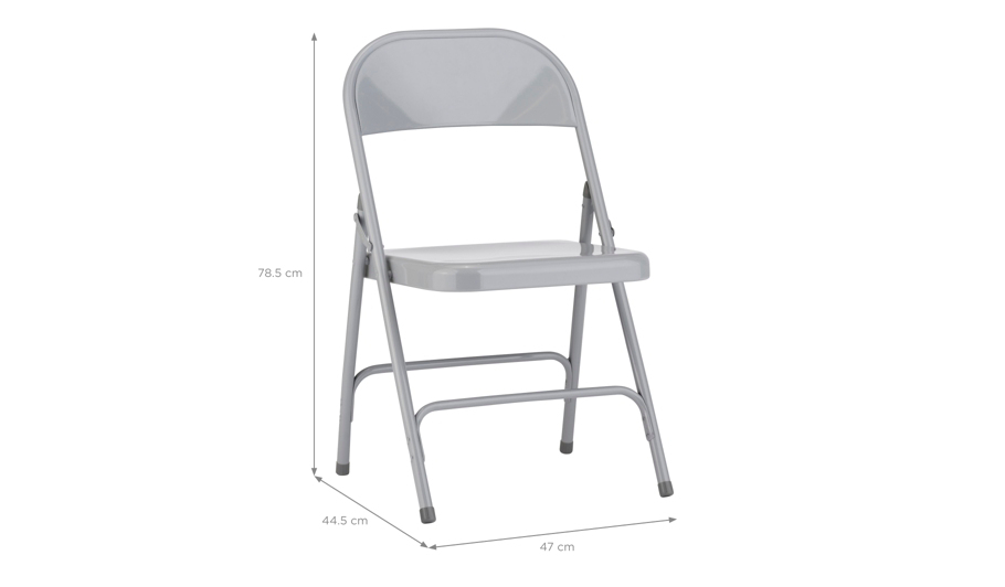George Home Folding Chair Grey Home amp Garden George  : 5054070914311Ahei532ampwid910ampqlt85ampfmtpjpgampresmodesharpampopusm110 from direct.asda.com size 910 x 532 jpeg 18kB
