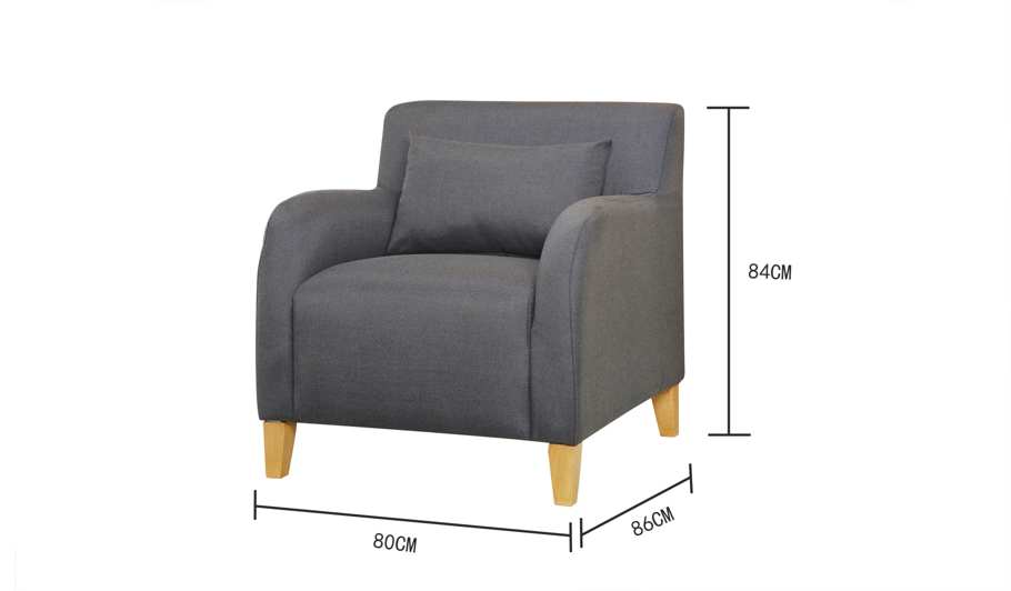 George Home Nadine Accent Chair In Various Colours Home