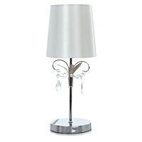 George Home Silver Jewel Table Lamp Lighting George at ASDA