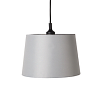 George Home Chimney Light Shade - Grey Lighting George at ASDA