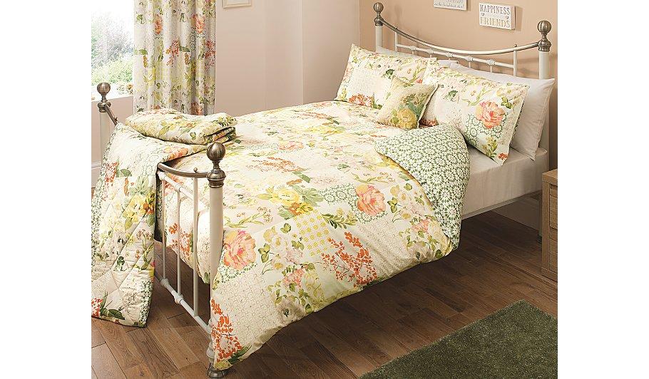 George Home Bellezza Patchwork Duvet Set - King | Bedding ...