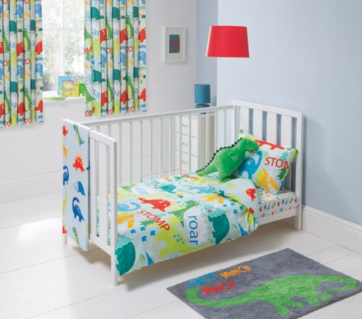 George Home Dino and Roar Duvet  Set