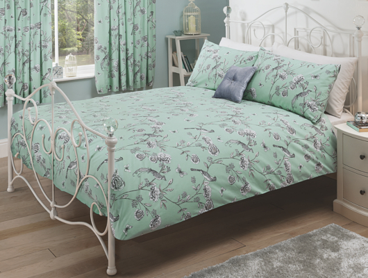 George Home Chinoiserie Floral Duvet Set