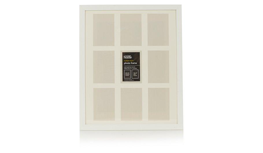 george home contemporary multiple mount photo frame home. Black Bedroom Furniture Sets. Home Design Ideas