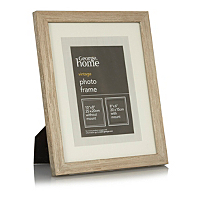 george home distressed wood photo frame 8 x 6 inch. Black Bedroom Furniture Sets. Home Design Ideas