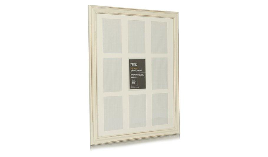 george home vintage wood photo frame 20 x 16 inch. Black Bedroom Furniture Sets. Home Design Ideas