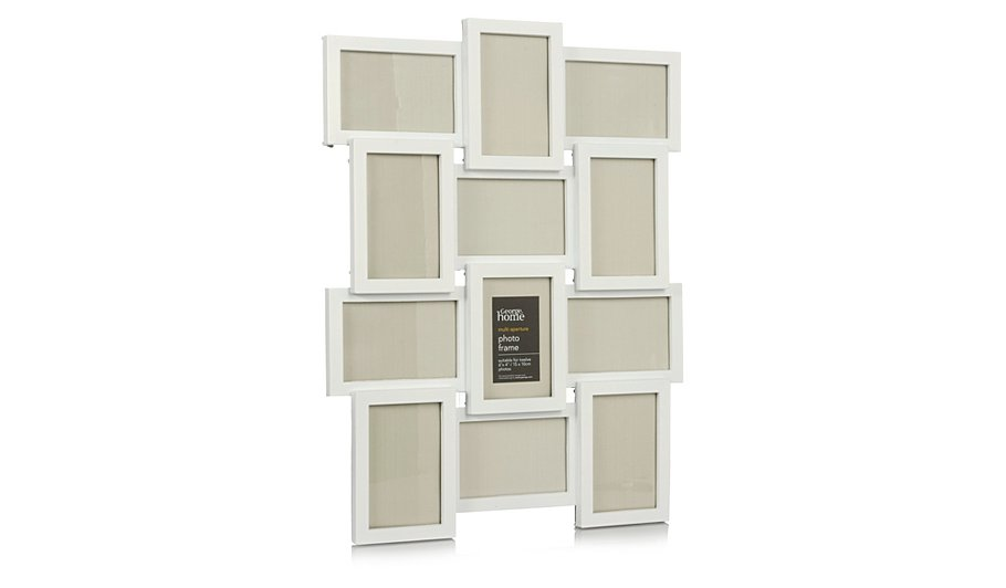 white multi mount photo frame