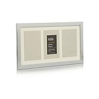 george home silver multi mount photo frame 6 x 4 inch. Black Bedroom Furniture Sets. Home Design Ideas