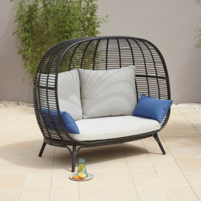2 Seater Rattan Sofa Asda | Homedesignview.co
