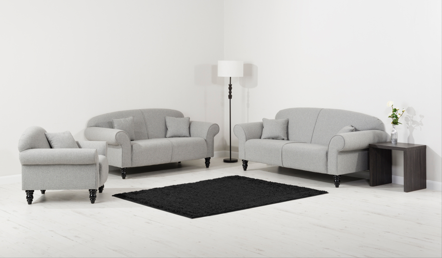 George Home Elliott Compact Sofa In Soft Linear Home