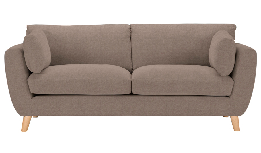 George Home Glynn Large Sofa In Soft Linear Home